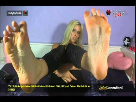 Lady Sybella Feet