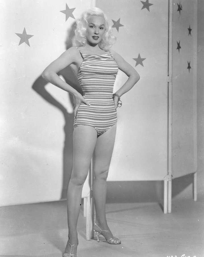 Mamie Van Doren Feet