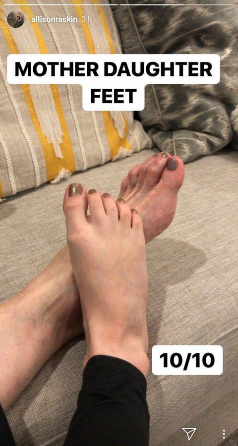 Allison Raskin Feet