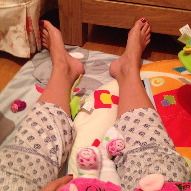 Stamatina Tsimtsili Feet