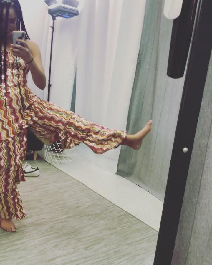 Aisha Dee Feet