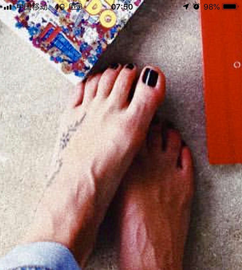 Fiorella Mattheis Feet