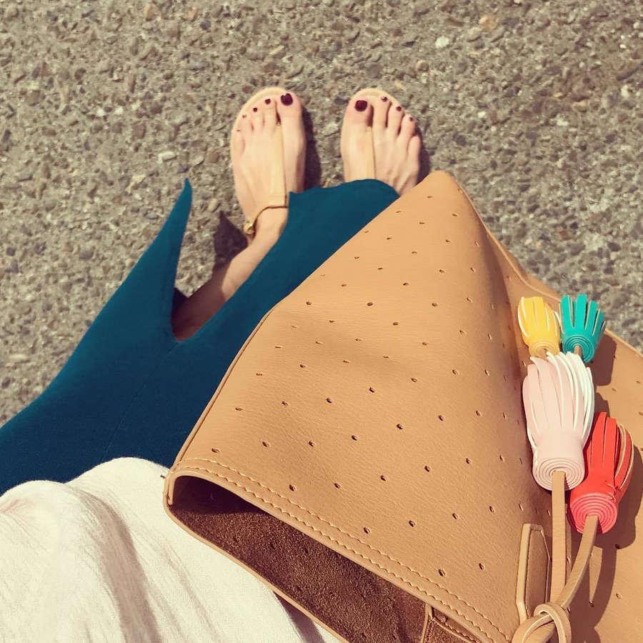 Violeta Ximello Feet