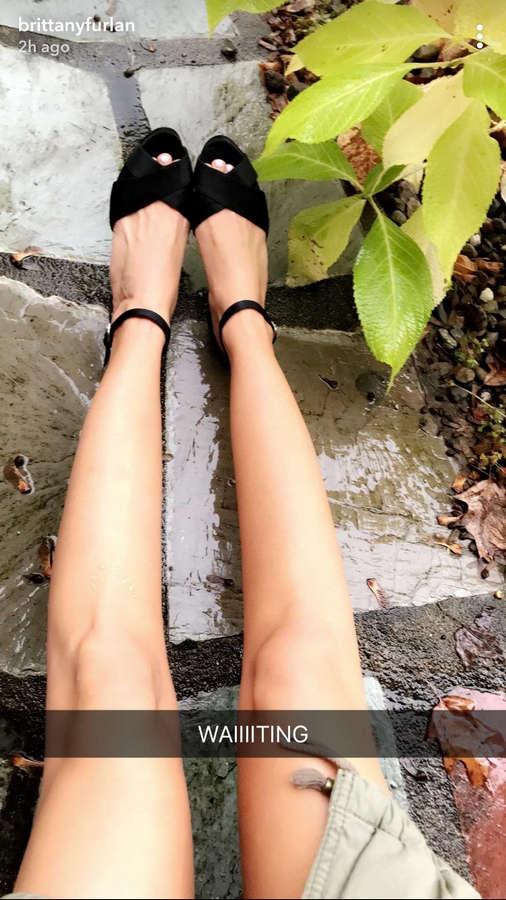 Brittany Furlan Feet