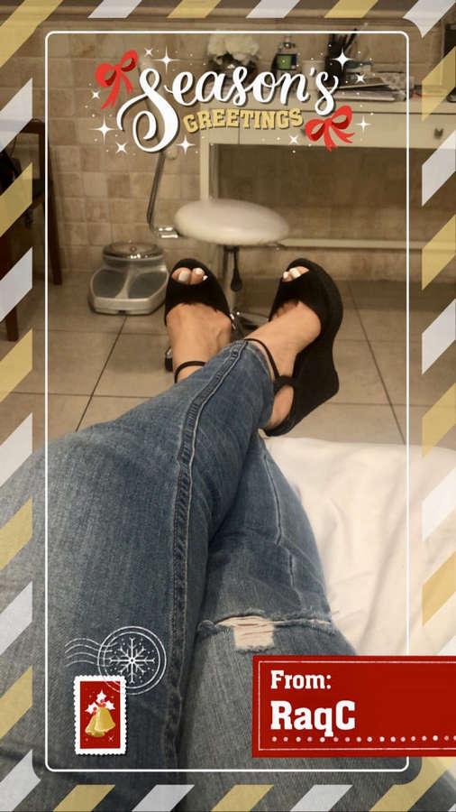 Raquel Cordova Feet