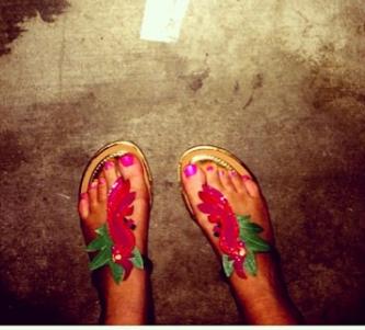 Rachel Kroes Feet