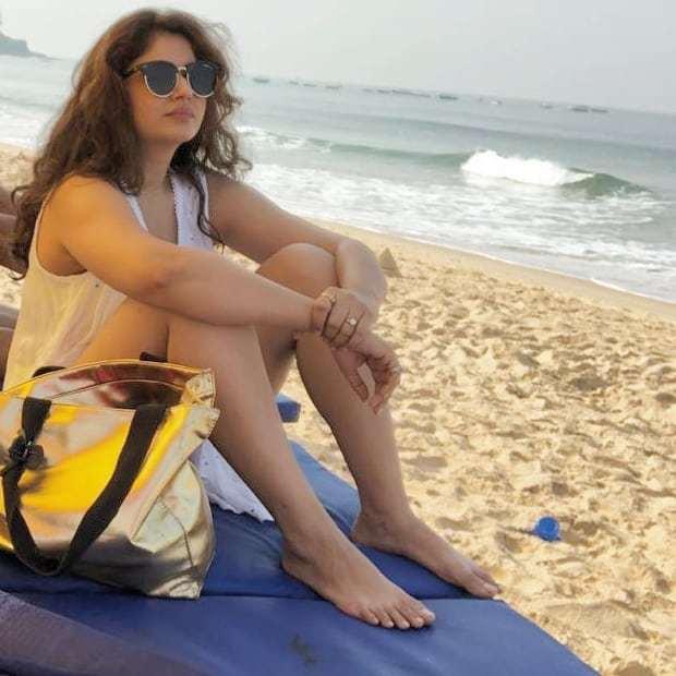 Poonam Bajwa Feet
