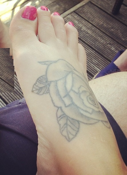 Amylu Bennett Feet