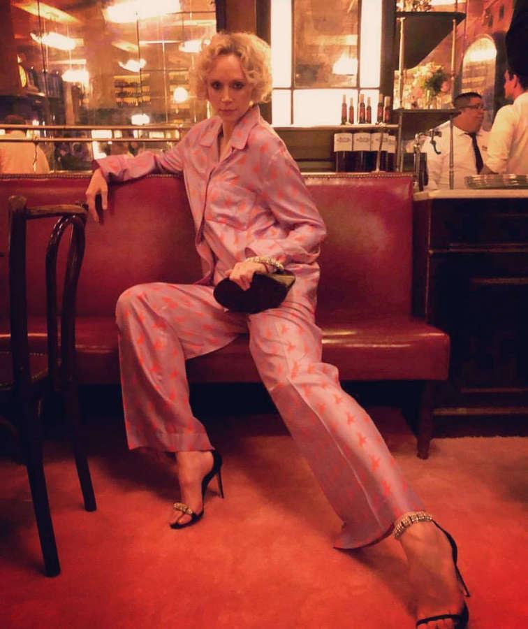 Gwendoline Christie Feet