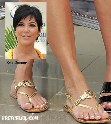 Kris Jenner Feet