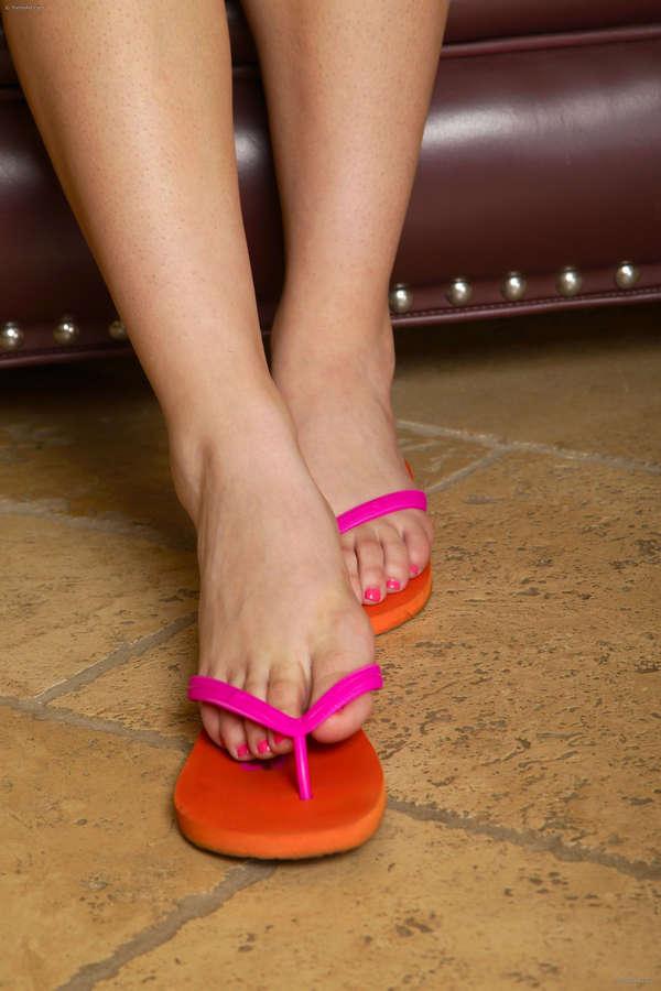 Adrienne Anderson Feet