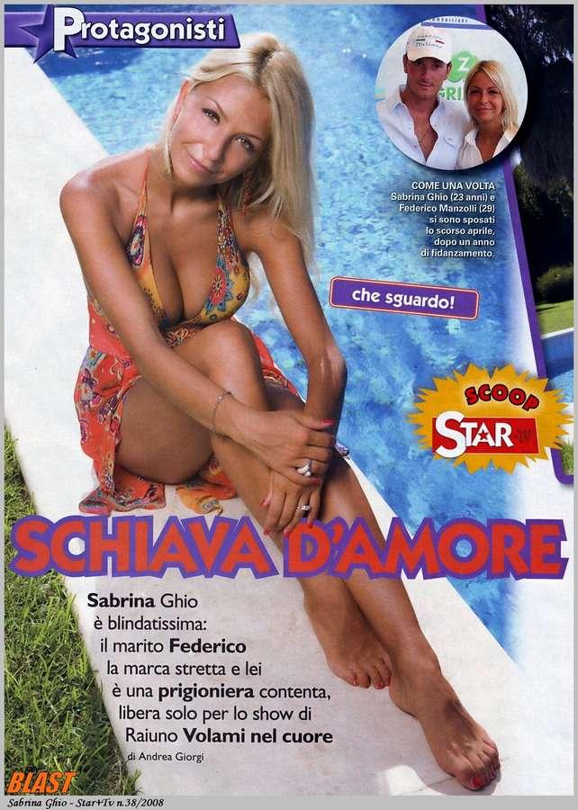 Sabrina Ghio Feet