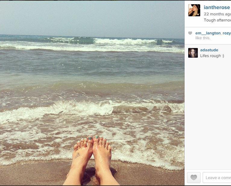 Ianthe Rose Cochrane Stack Feet
