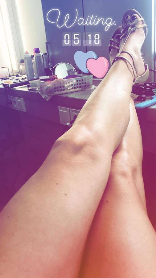 Alina Merkau Feet
