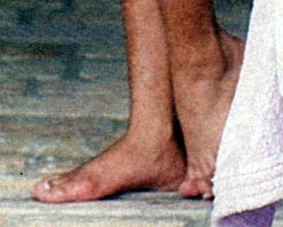 Magda Cotrofe Feet