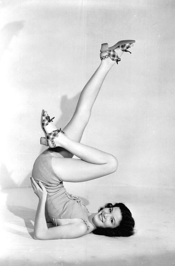 Nanette Fabray Feet