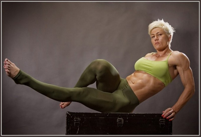 Olga Kurkulina Feet