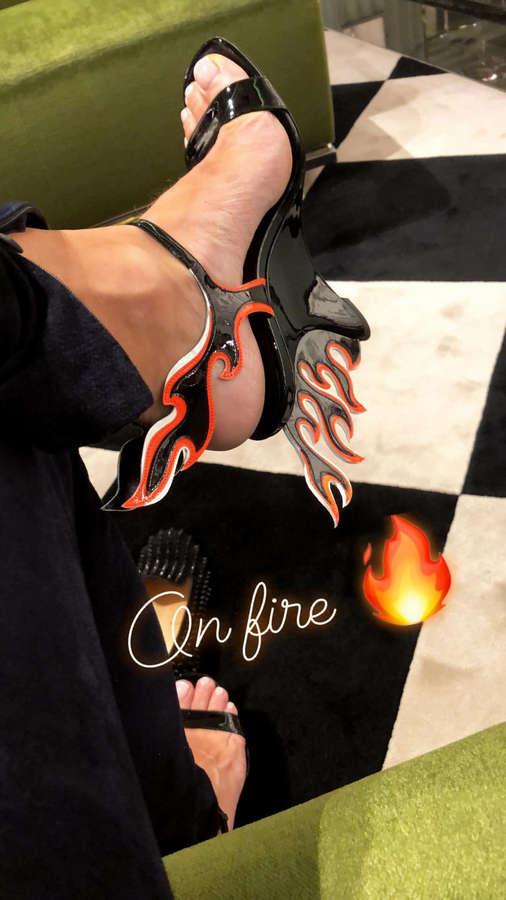 Caroline Fleming Feet