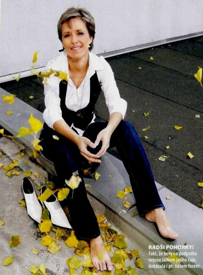 Alena Zarybnicka Feet