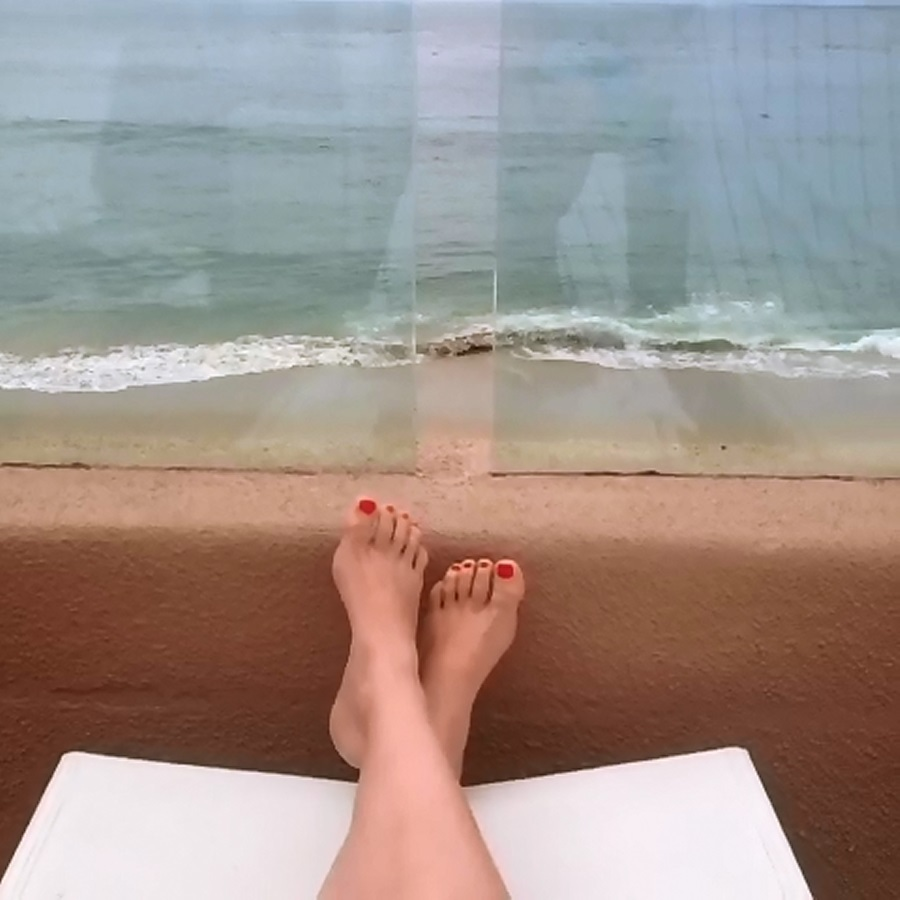 Achelle Dunaway Feet