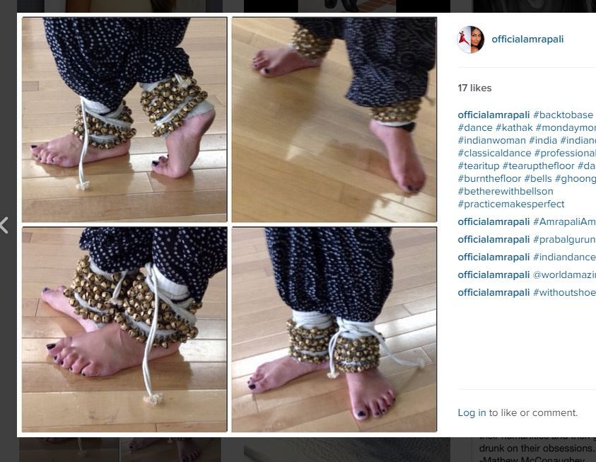 Amrapali Ambegaokar Feet