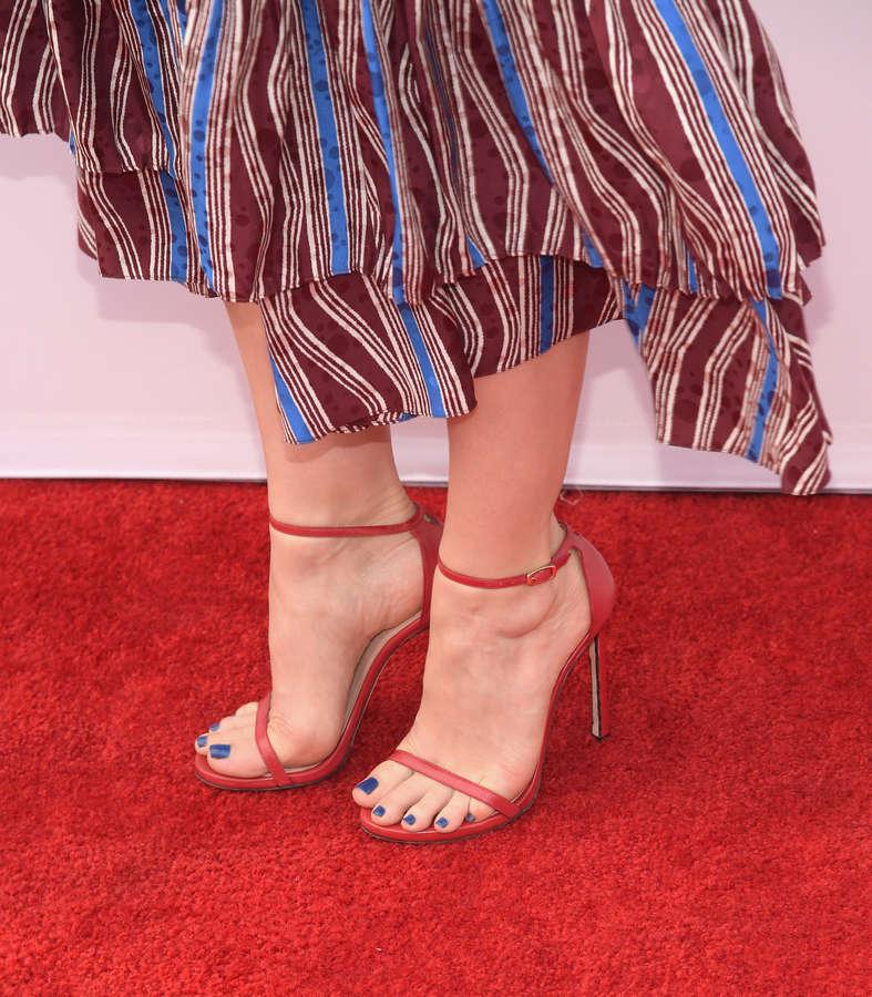 Judy Greer Feet