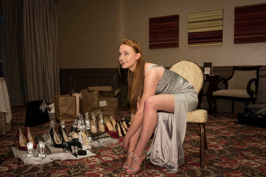 Sophie Turner Feet