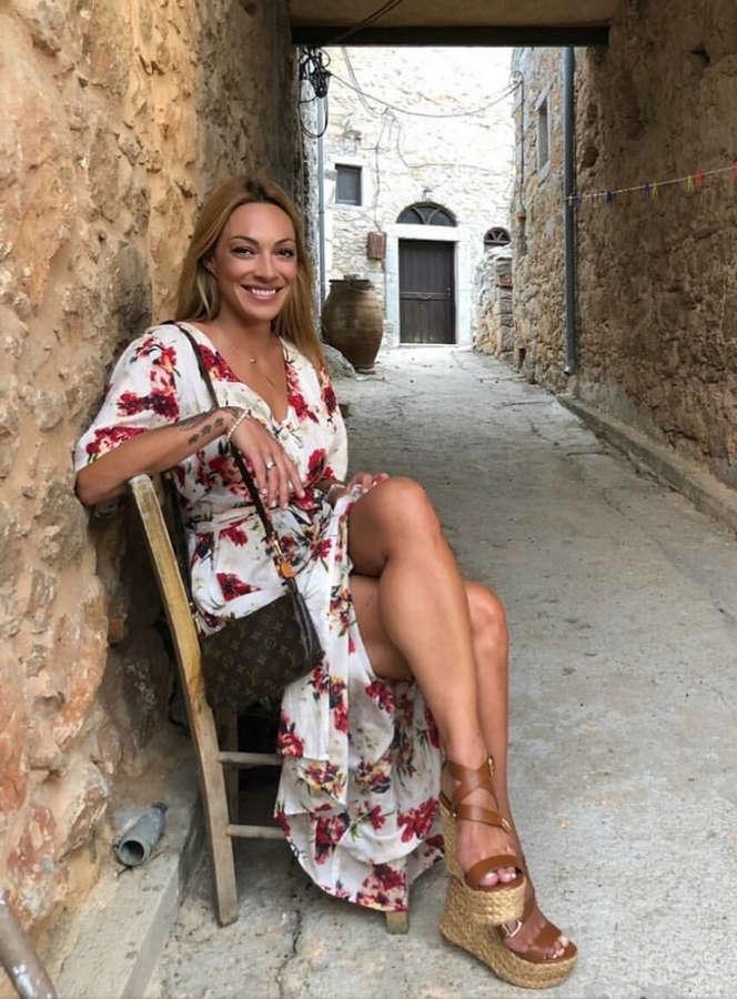 Maria Tsouri Feet