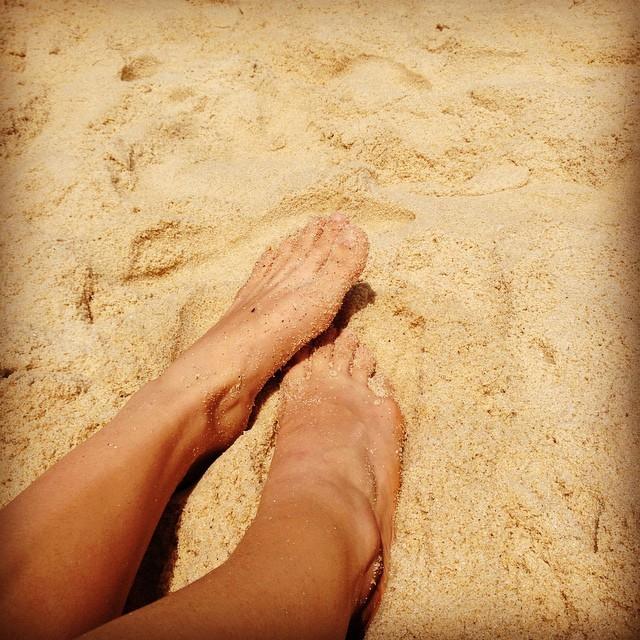 Ana Rios Feet