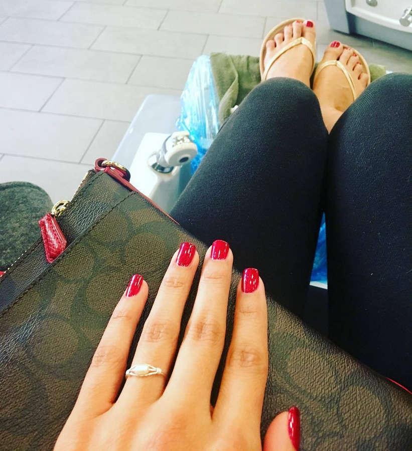 Vanessa Hernandez Feet