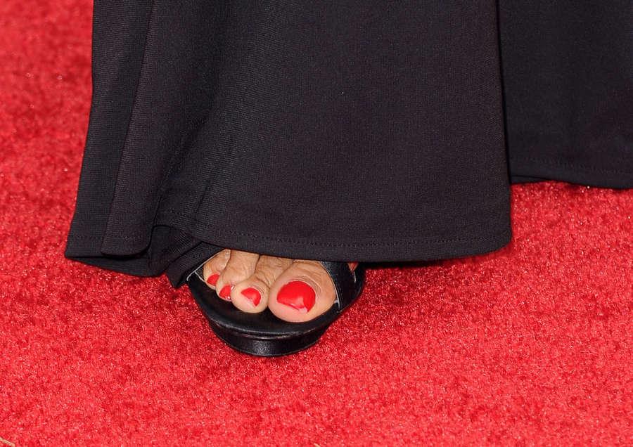 Shaun Robinson Feet