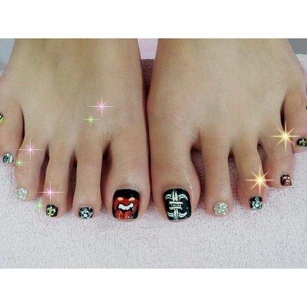 Amber An Feet