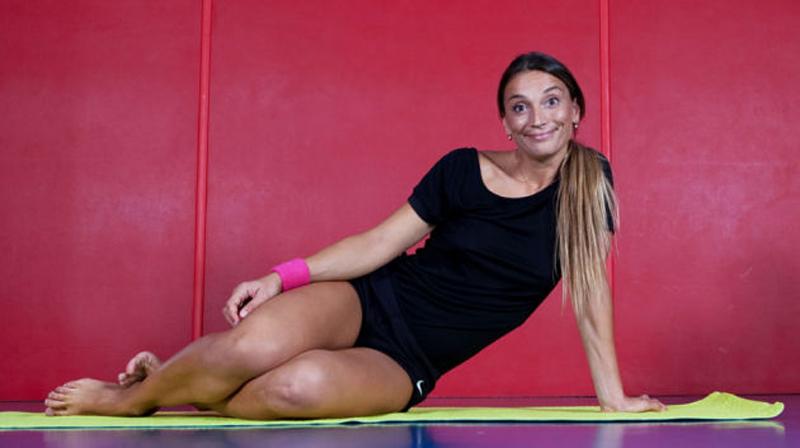Margherita Granbassi Feet