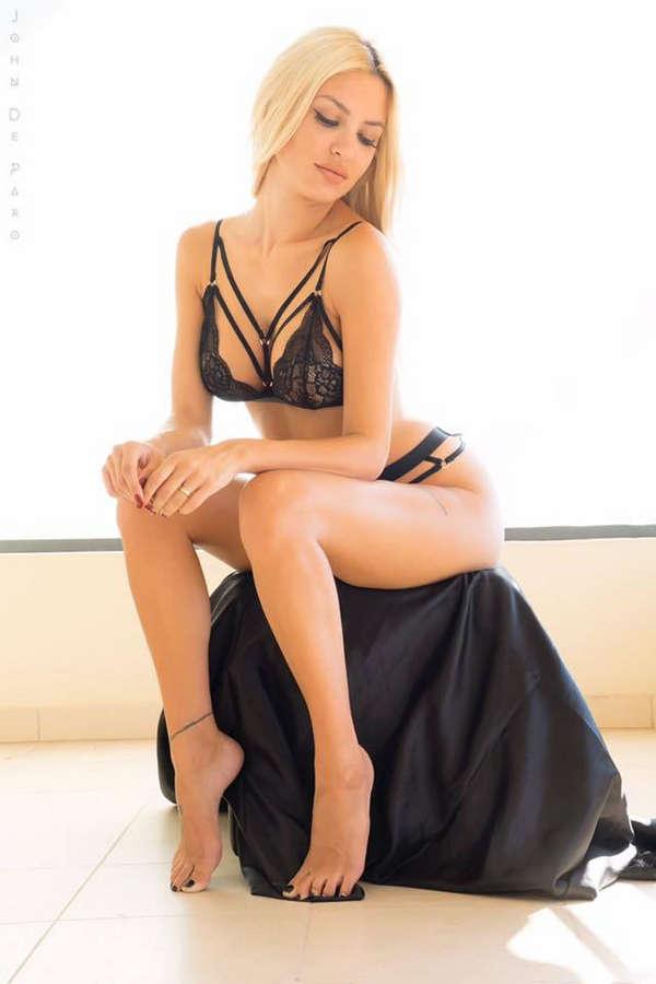 Alexandra Panagiotarou Feet