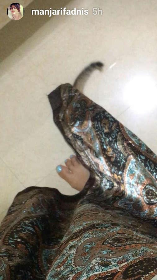 Manjari Fadnis Feet