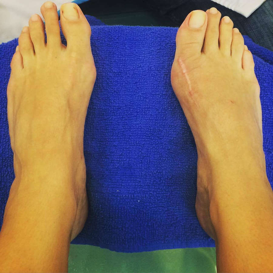 Sarah Tiana Feet