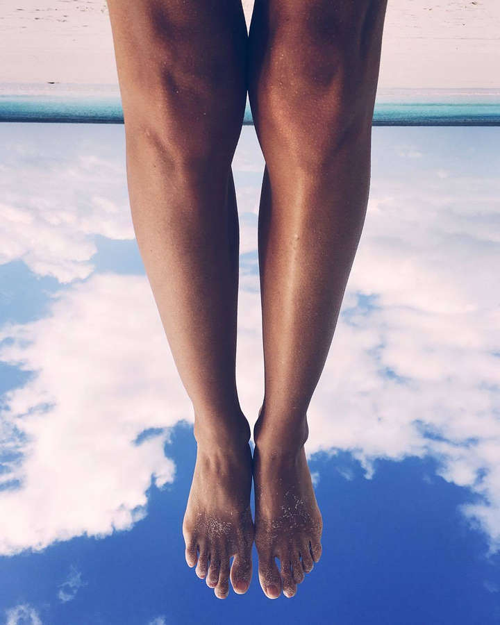 Zhenya Katava Feet