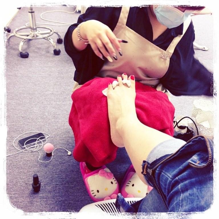 Man Chi Chan Feet
