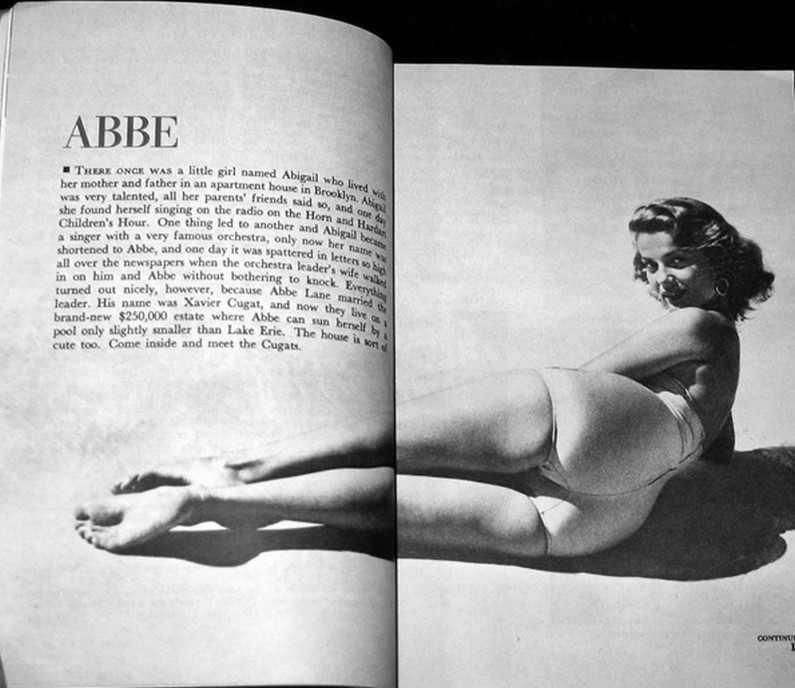 Abbe Lane Feet