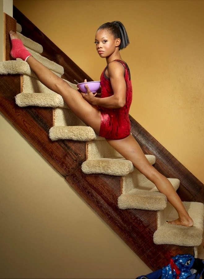 Gabby Douglas Feet