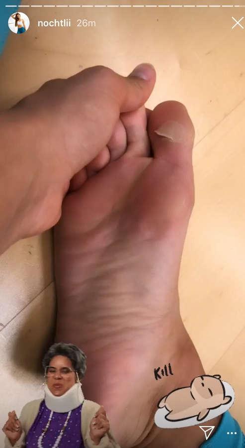 Nochtli Peralta Alvarez Feet