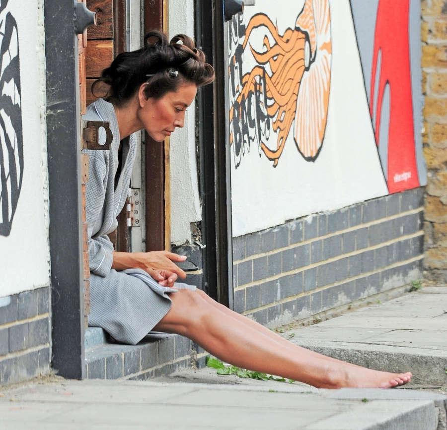 Melanie Sykes Feet
