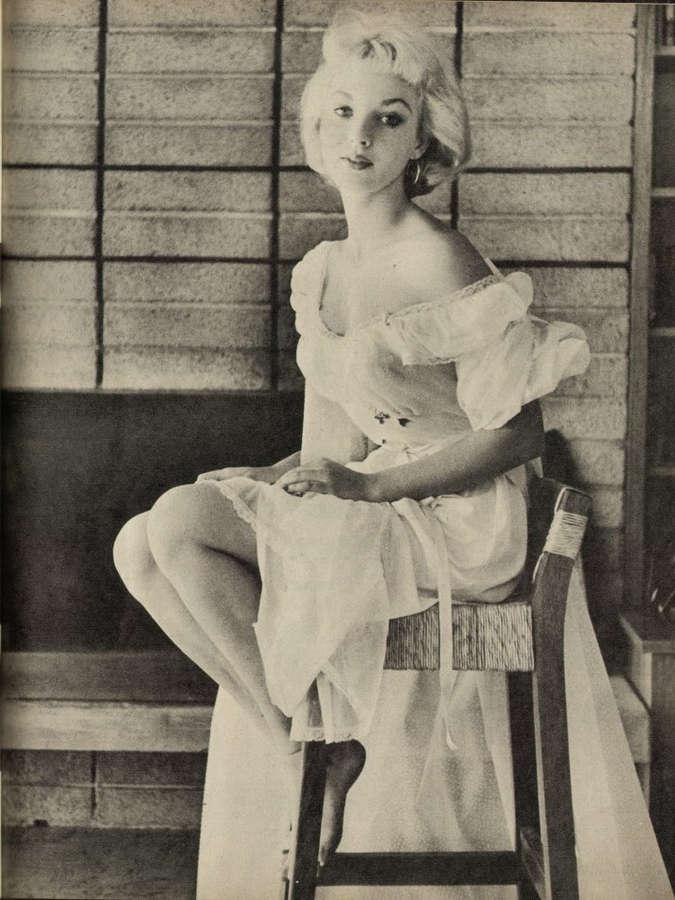 Venetia Stevenson Feet