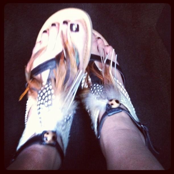 Cassie Cardelle Feet