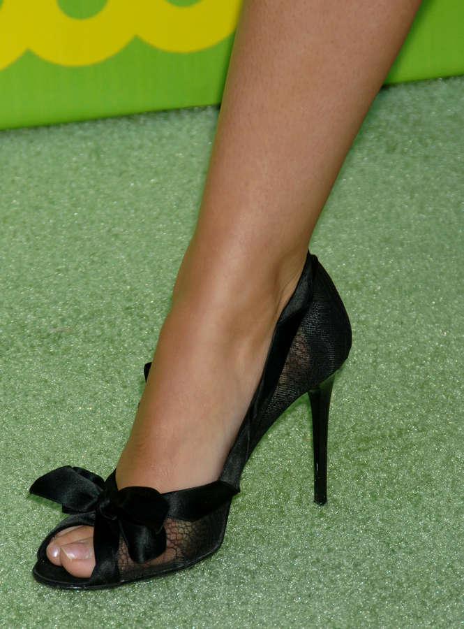 Beverley Mitchell Feet
