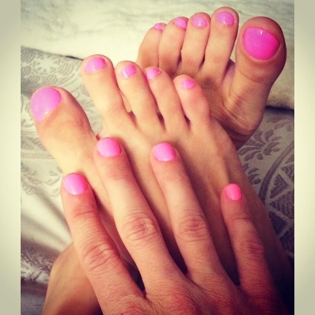 Rebecca Zamolo Feet