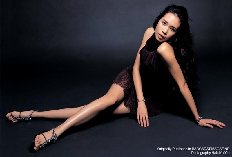 Karen Mok Feet