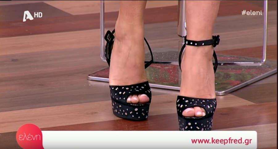 Eleni Menegaki Feet
