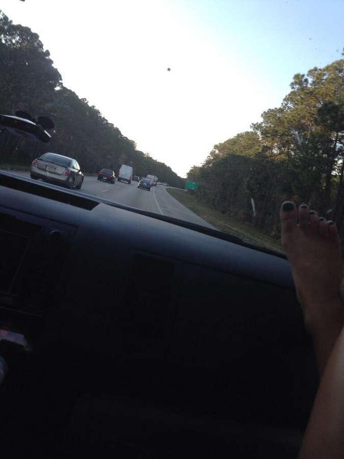 Nicole Hampton Feet