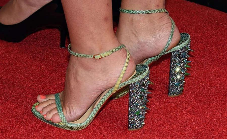 April Macie Feet